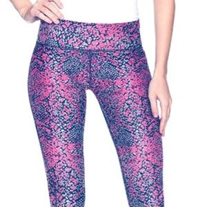 Pants - Tall Colorful Print Athletic Everyday Leggings